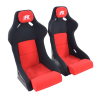 Sportseat Set Evolution Fabric Red