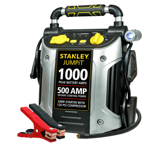 Stanley-J5C09-1000-Peak-Amp-Jump-Starter-with-Built-in-Compressor
