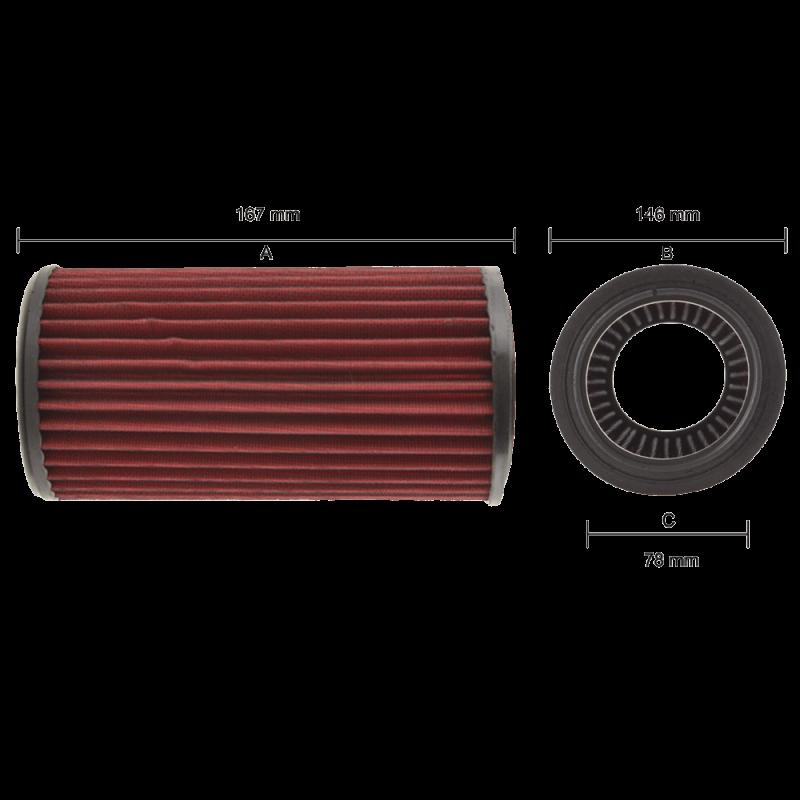 Sport-Air-Filter-Replacement-Filter-Audi-A6-(4F)-FR