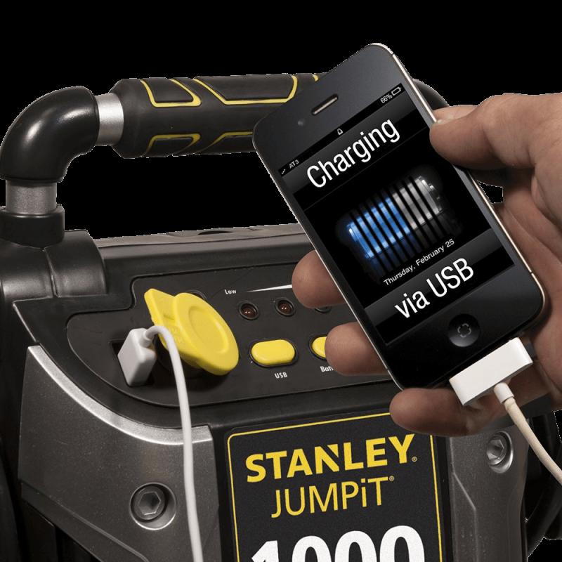 Stanley-J5C09-1000-Peak-Amp-Jump-Starter-with-Built-in-Compressor